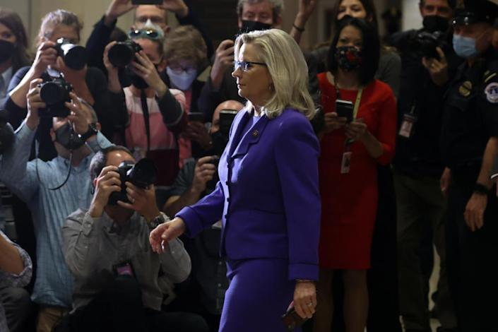 Liz Cheney, who was removed this week from the House leadership, has backed the idea of a commission.