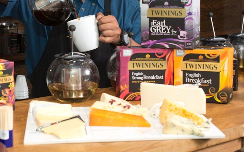 Cheese and tea - Credit: Jeff Gilbert