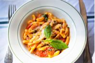 <p>Cavatelli works well with most sauces, and is often served with broccoli.</p>