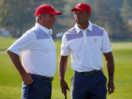 Woods names Couples as assistant for Presidents Cup