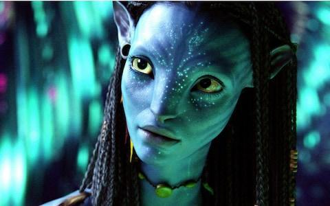 "Zoe Saldana in ""Avatar."" (Twentieth Century Fox)"
