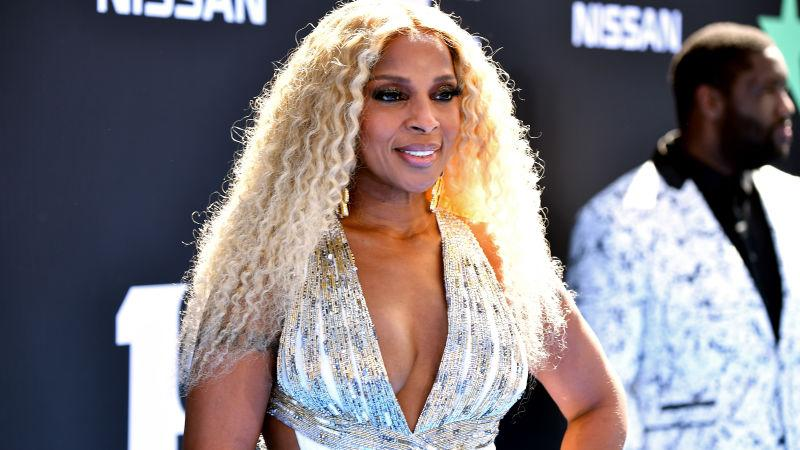 Mary J. Blige attends the 2019 BET Awards at Microsoft Theater on June 23, 2019 in Los Angeles, California.