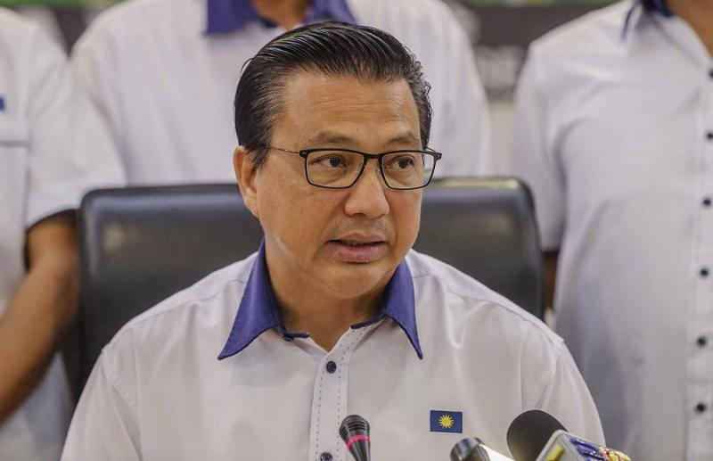 MCA president Datuk Seri Liow Tiong Lai speaks during a press conference in Kuala Lumpur May 19, 2018. — Picture by Firdaus Latif