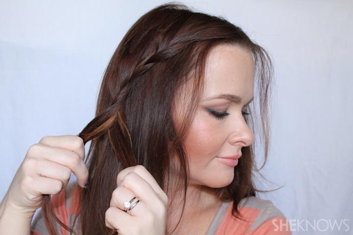Crown braid | Sheknows.com - step 04