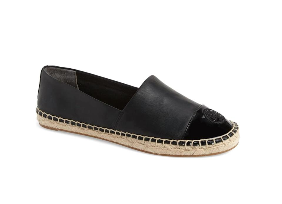<p>Pair this <span>Tory Burch Colorblock Espadrille Flat</span> ($133, originally $198) with your favorite long denim shorts and a tee for a laidback look.</p>