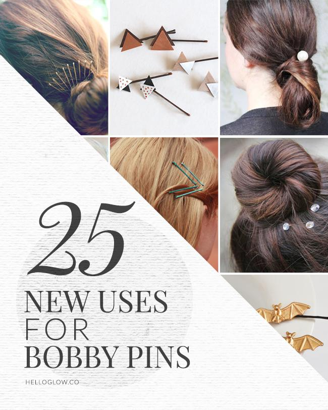 25 uses for bobby pins