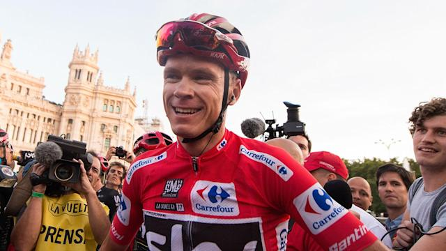 After winning the Vuelta a Espana, Chris Froome will appear in the time trial event at the Road World Championships.