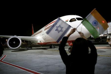 An Air India Boeing 787-8 Dreamliner plane lands at the Ben Gurion International airport in Lod, near Tel Aviv, Israel, March 22, 2018. REUTERS/Amir Cohen