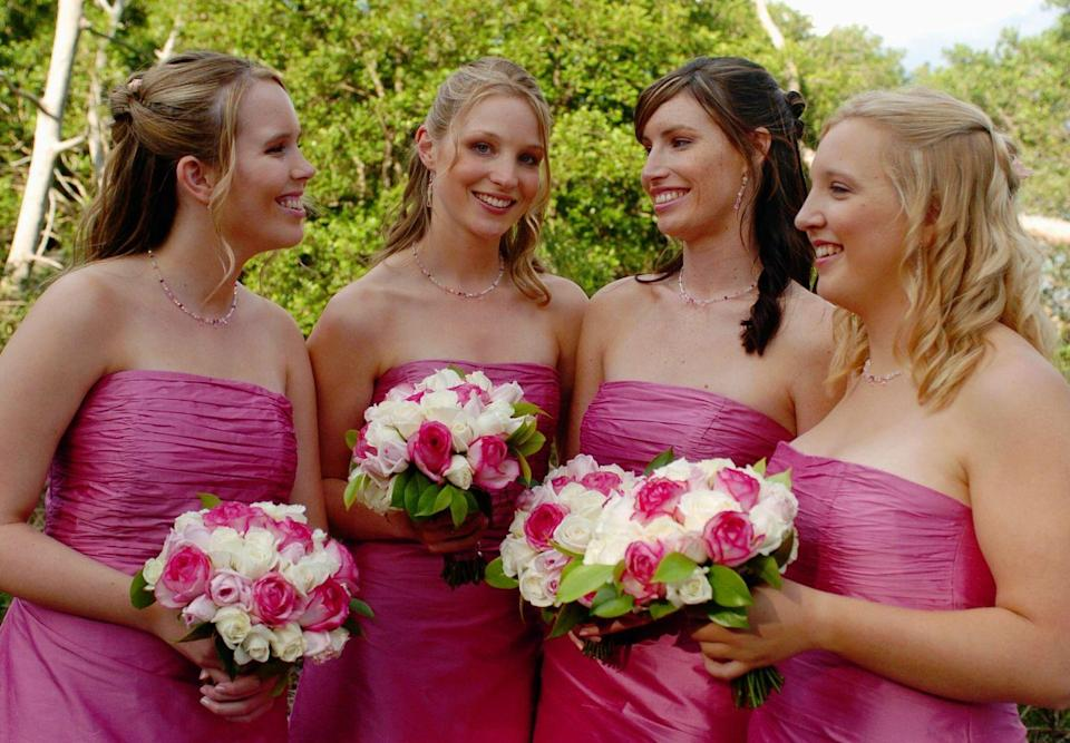 <p>Strapless became more and more popular during the early 2000s—a trend that decided to stick around for a while. </p>