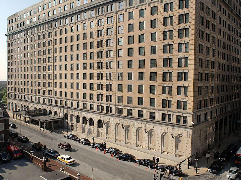 "<p>The ritzy, gilded Hotel Dupont showcases European craftsmanship that's drawn such high-profile guests as Prince Rainier of Monaco, King Carl XVI Gustaf and Prince Bertil of Sweden, and President John F. Kennedy. Also of note: rumors that the swanky property is haunted. Some guests have pointed to room 1018 has the epicenter of the paranormal activity.  </p><p><a class=""link rapid-noclick-resp"" href=""https://go.redirectingat.com?id=74968X1596630&url=https%3A%2F%2Fwww.tripadvisor.com%2FHotel_Review-g34059-d114447-Reviews-HOTEL_DU_PONT-Wilmington_Delaware.html&sref=https%3A%2F%2Fwww.countryliving.com%2Flife%2Ftravel%2Fg2689%2Fmost-haunted-hotels-in-america%2F"" rel=""nofollow noopener"" target=""_blank"" data-ylk=""slk:PLAN YOUR TRIP"">PLAN YOUR TRIP</a></p>"