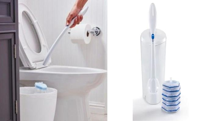 Upgrade that dirty toilet brush with a more hygienic version.