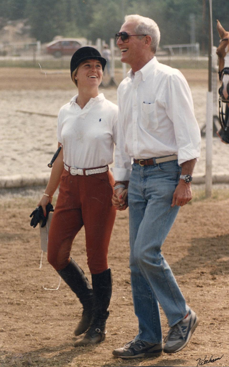 Clea and Paul Newman, - Courtesy of Clea Newman