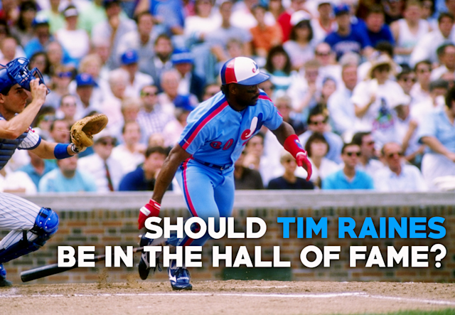 Would you put Tim Raines in the Hall of Fame? (Getty Images)