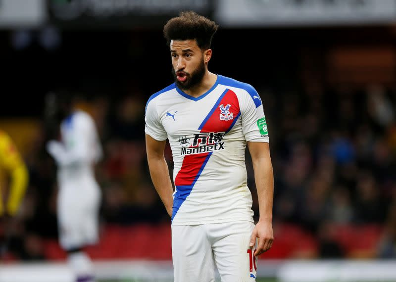 Players eager to restart contact training, says Palace's Townsend