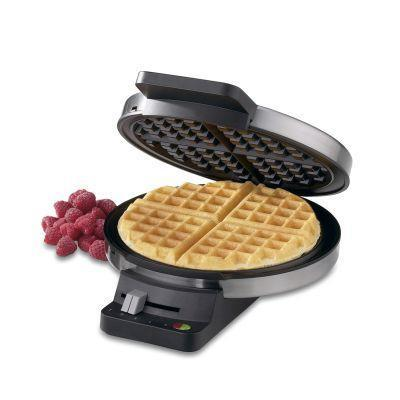 """<p><strong>Cuisinart</strong></p><p>walmart.com</p><p><strong>$46.86</strong></p><p><a href=""""https://go.redirectingat.com?id=74968X1596630&url=https%3A%2F%2Fwww.walmart.com%2Fip%2F22577937&sref=https%3A%2F%2Fwww.thepioneerwoman.com%2Fholidays-celebrations%2Fgifts%2Fg35821496%2Fbest-mothers-day-gifts-walmart%2F"""" rel=""""nofollow noopener"""" target=""""_blank"""" data-ylk=""""slk:Shop Now"""" class=""""link rapid-noclick-resp"""">Shop Now</a></p><p>The gleaming silver exterior of this waffle maker will delight her as soon as she unwraps it. But it's what's on the inside that counts: a five-setting browning control, regulated thermostat, red and green indicator lights, and non-stick baking plates. It's not hard to see why it's one of the most popular waffle makers at Walmart.</p>"""