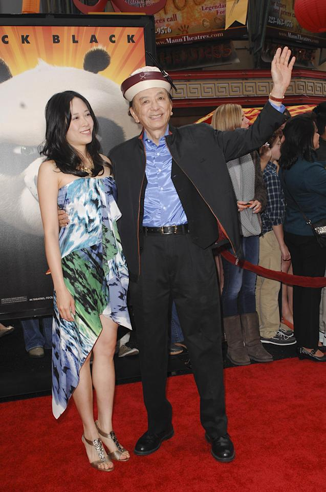 "<a href=""http://movies.yahoo.com/movie/contributor/1800020802"">James Hong</a> attends the Los Angeles premiere of <a href=""http://movies.yahoo.com/movie/1810090593/info"">Kung Fu Panda 2</a> on May 22, 2011."
