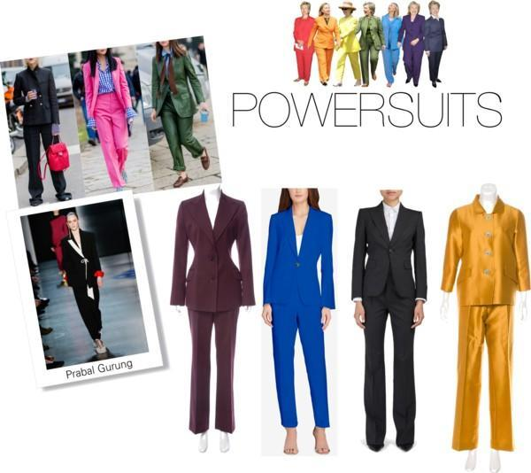 NYFW FW18 Trend: Powersuits