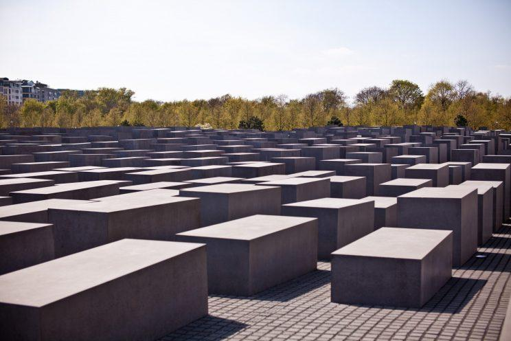 Berlin's Memorial to the Murdered Jews of Europe is next to Brandenburg Gate. Supplied photo from the Foundation Memorial to the Murdered Jews of Europe
