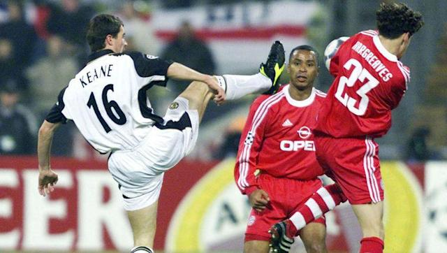 <p>The stony-faced pundit is the most-decorated Irishman in Premier League history. Roy Keane (like Irwin) won seven Premier Leagues, as well as the Champions League and four FA Cups.</p> <br><p>Few players have ever lived up to Keane's dedication, effort or leadership qualities on the pitch and the fiery captain left a raw wound when he acrimoniously departed Man Utd in 2005.</p> <br><p>Keane was named the Football Writers' Player of the Year in 2000 and made the PFA Team of the Year on five separate occasions.</p>
