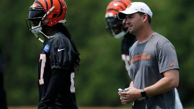 Bengals coaches from Marvin Lewis era like Zac Taylor's teaching approach