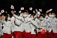 Host Japan will be hoping its record 254-strong team can repeat the country's Olympic gold rush