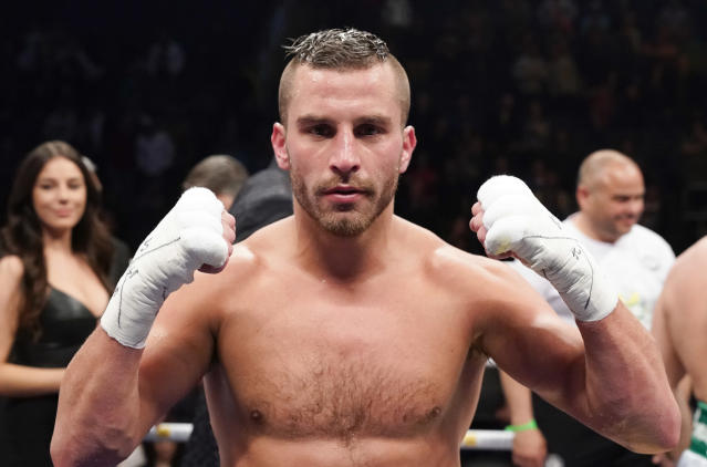David Lemieux faces Spike O'Sullivan on the undercard of the Canelo-GGG rematch on Sept. 15 in Las Vegas. (Getty Images)
