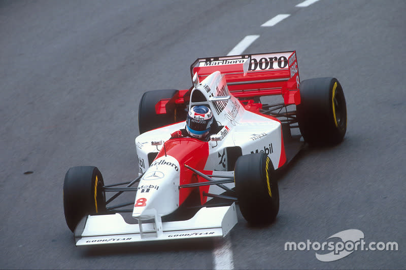"1995: McLaren-Mercedes MP4/10B<span class=""copyright"">LAT Images</span>"