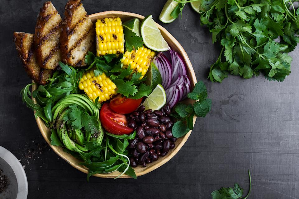 Vegan or vegetarian diets have both positive long-term effects and negative ones, according to research [Photo: Getty]