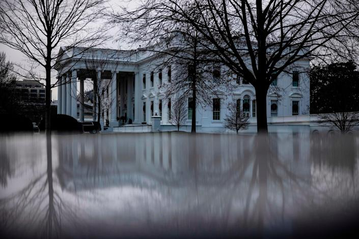The Trump White House in December 2020.
