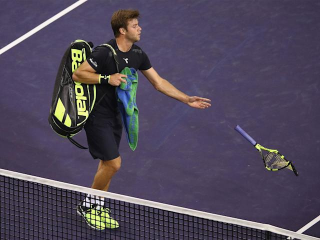 Ryan Harrison was accused by compatriot Donald Young of making offensive remarks: Getty