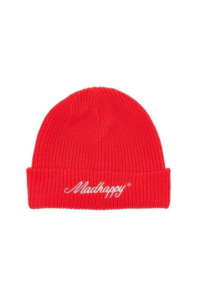 "<p><strong>Madhappy</strong></p><p>madhappy.com</p><p><strong>$45.00</strong></p><p><a href=""https://www.madhappy.com/collections/hat/products/knitted-beanie-tomato"" rel=""nofollow noopener"" target=""_blank"" data-ylk=""slk:SHOP IT"" class=""link rapid-noclick-resp"">SHOP IT</a></p><p>Calling all my streetwear fanatics! It's time to break out the logo beanie and rep your favorite brand.</p>"