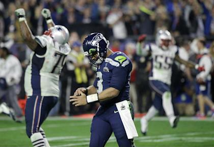 Russell Wilson won't leave Arizona with another Lombardi Trophy. (AP)