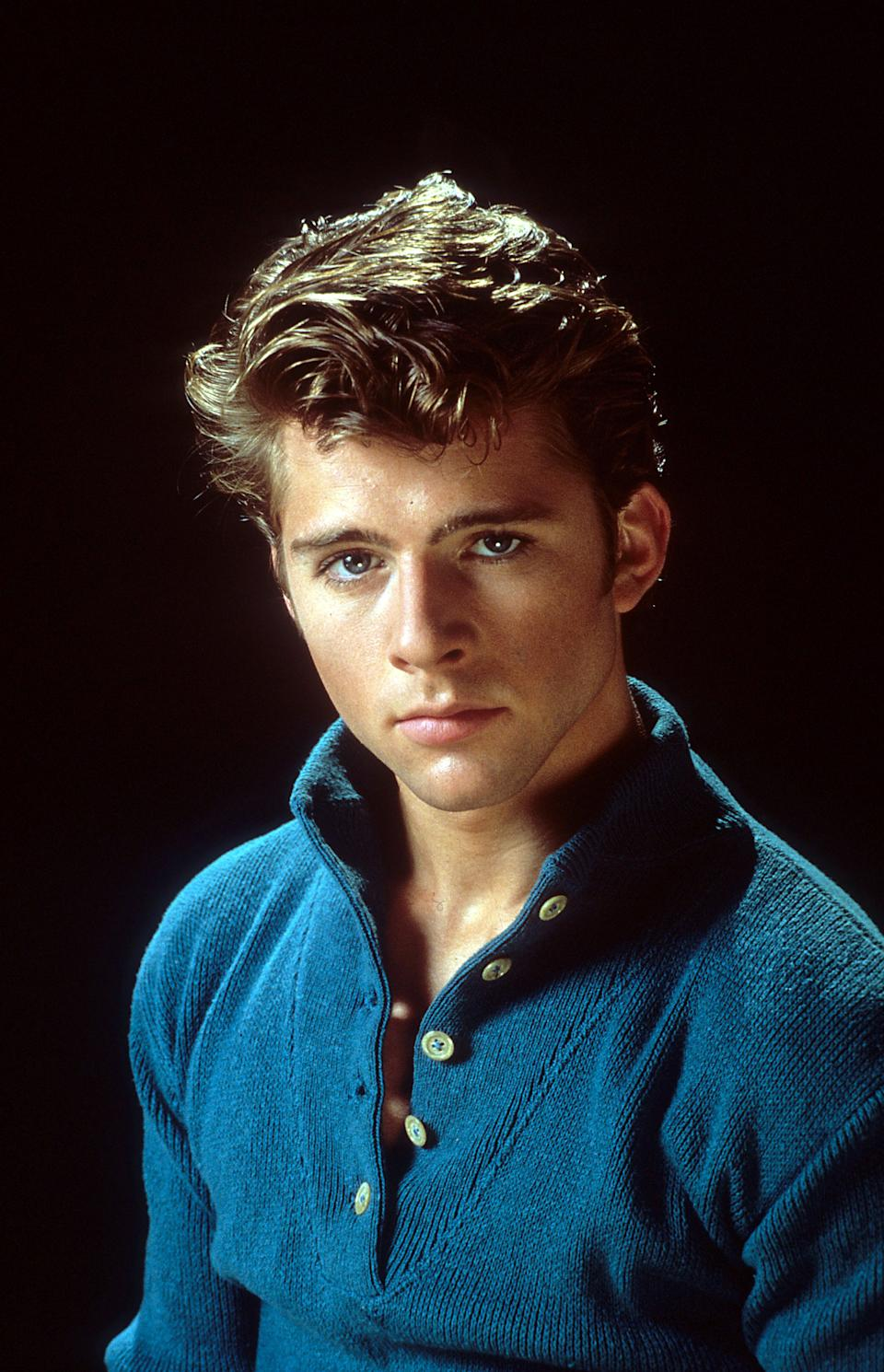 Maxwell Caulfield in <em>Grease 2</em> . (Photo: Getty Images)