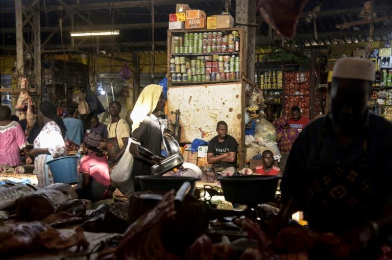 The Tilene market in Dakar. Many African economies have been badly hit by the impact of coronavirus, especially casual workers