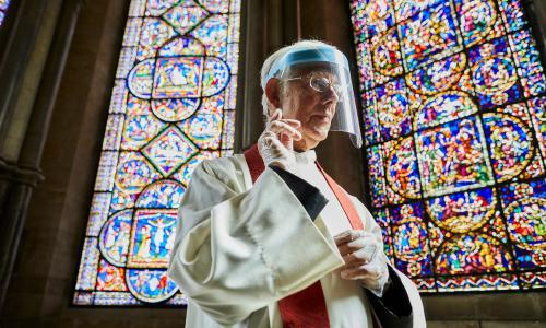 PPE and quiet amens: places of worship in England prepare to reopen
