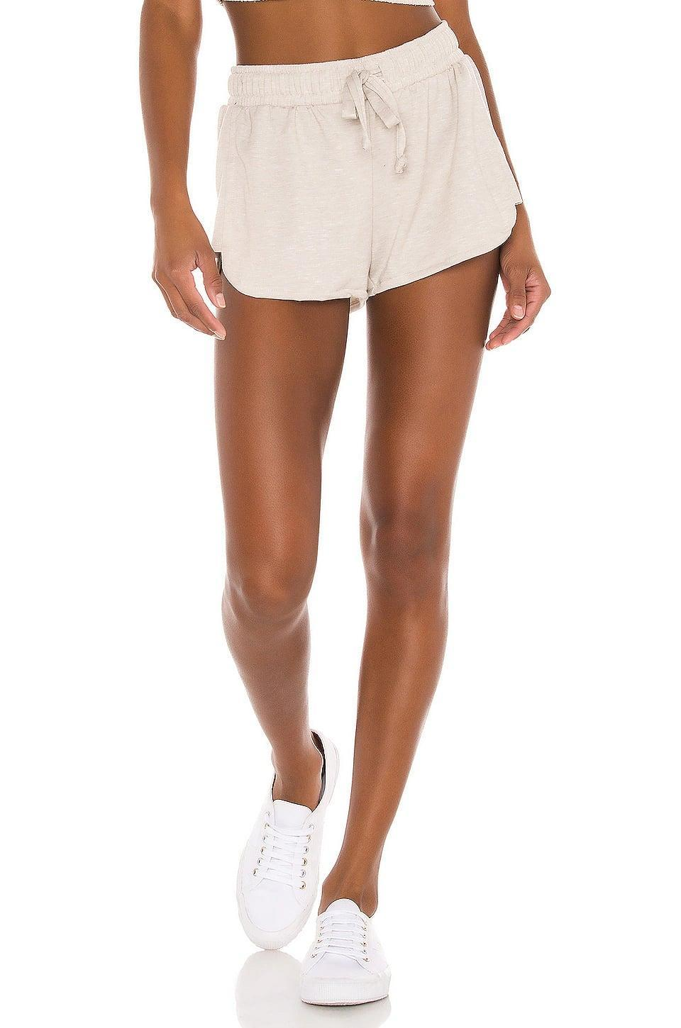 <p>We're obsessed with just about every part of these <span>Onzie Divine Shorts</span> ($56).</p>