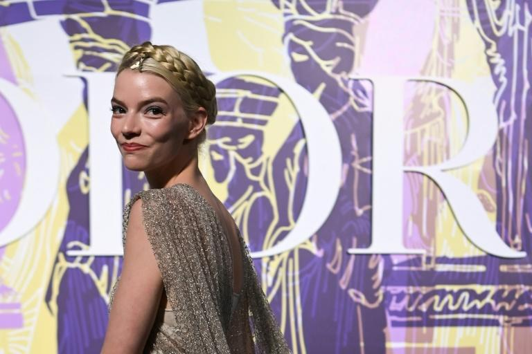 Queen's Gambit actress Anya Taylor-Joy was among 500 guests at the Dior show