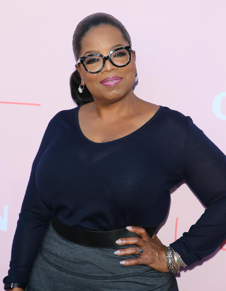 Oprah Winfrey appears to be a friend of the royal family. [Photo: Getty]