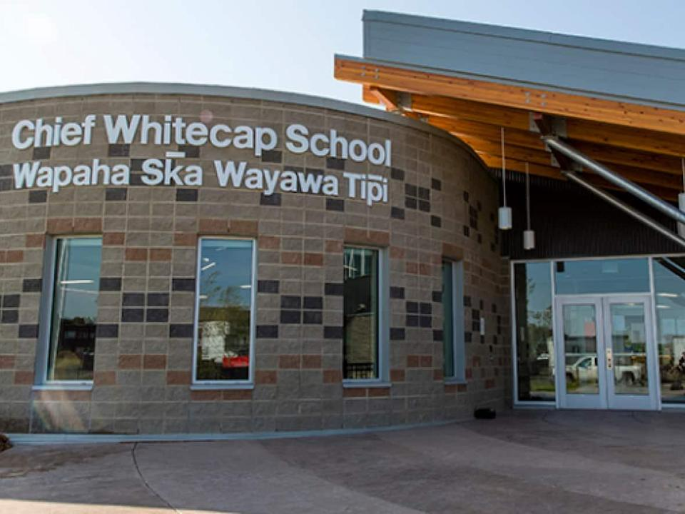 Chief Whitecap School officials sent a letter to parents on Friday warning of a stranger approaching students about vaccines.  (Saskatoon Public Schools - image credit)