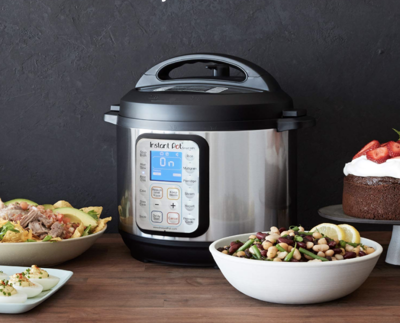 Instant Pot Smart WiFi 8-in-1 Electric Pressure Cooker. (Photo: Amazon)