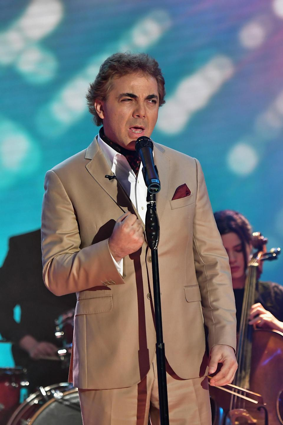 Cristian Castro tendrá su 'reality show' (Photo by Gustavo Caballero/Getty Images)