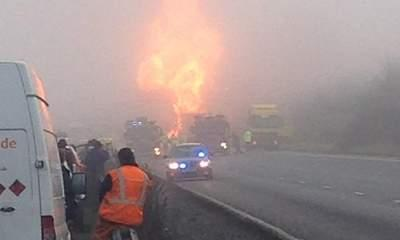 M6 Chemical Tanker Fire: 10 People Treated
