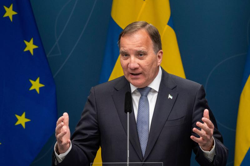 Swedish Prime Minister Stefan Lofven. (Getty)