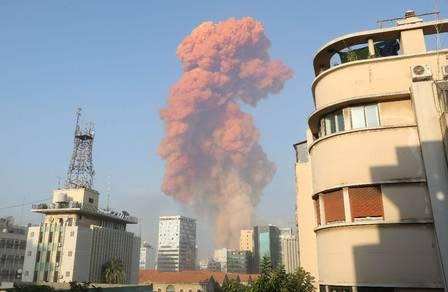 89046129_A picture shows the scene of an explosion in Beirut on August 4 2020 - A large explosio.jpg