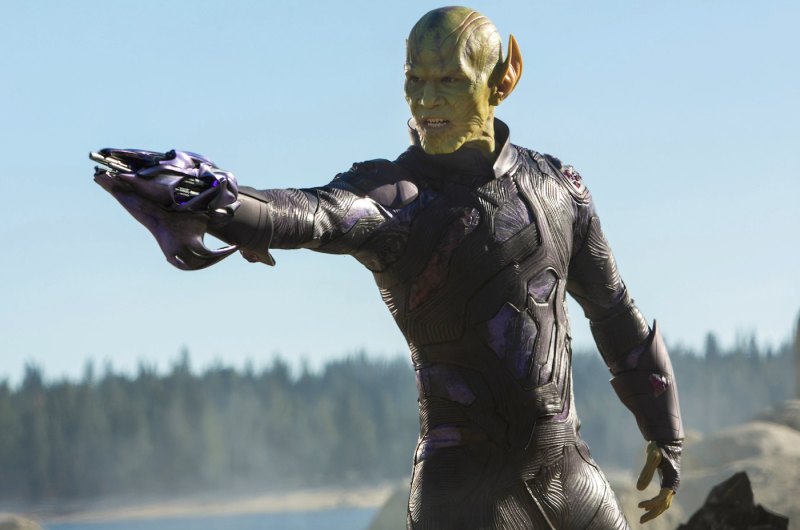 A Skrull possibly finding out he's been cut from Dark Phoenix (credit: Marvel)