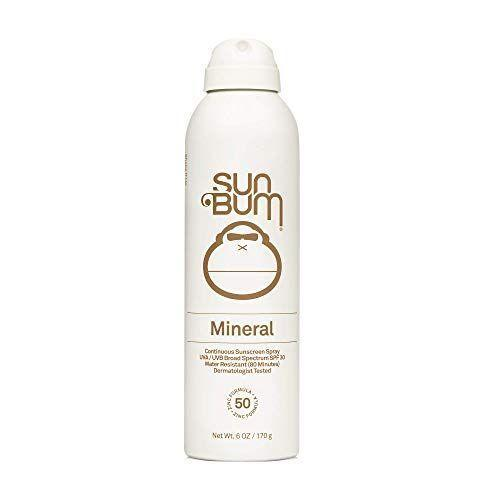 """<p><strong>Sun Bum</strong></p><p>amazon.com</p><p><strong>12.98</strong></p><p><a href=""""https://www.amazon.com/dp/B08KR37KHH?tag=syn-yahoo-20&ascsubtag=%5Bartid%7C2139.g.36319692%5Bsrc%7Cyahoo-us"""" rel=""""nofollow noopener"""" target=""""_blank"""" data-ylk=""""slk:BUY IT HERE"""" class=""""link rapid-noclick-resp"""">BUY IT HERE</a></p><p>You'll often see mineral sunscreens in lotion form, but lots of people like sprays because they're easy to apply. This one is the best of both worlds—zinc oxide mineral protection from UV rays in an easy-to-use spray formula. Just remember that even if you use a zinc oxide sunscreen spray, you still have to make sure to rub it in to avoid missing spots, says Dr. Zeichner.</p>"""