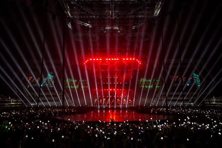 EXO at the EXOPLANET #3 - The EXO'rDIUM in Singapore concert (Photo Credit: ONE Production/Marcus Lin)