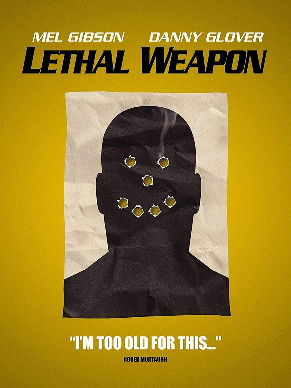 """<p>It's easy to forget that <em>Lethal Weapon</em> takes place during Christmas, but considering it starts with """"Jingle Bell Rock"""" and ends with """"I'll Be Home For Christmas,"""" you should feel free to add this one to your December lineup if you're an action movie fan.</p><p><a class=""""link rapid-noclick-resp"""" href=""""https://www.amazon.com/Lethal-Weapon-Mel-Gibson/dp/B0091X2T9M/?tag=syn-yahoo-20&ascsubtag=%5Bartid%7C10055.g.1315%5Bsrc%7Cyahoo-us"""" rel=""""nofollow noopener"""" target=""""_blank"""" data-ylk=""""slk:WATCH NOW"""">WATCH NOW</a></p>"""