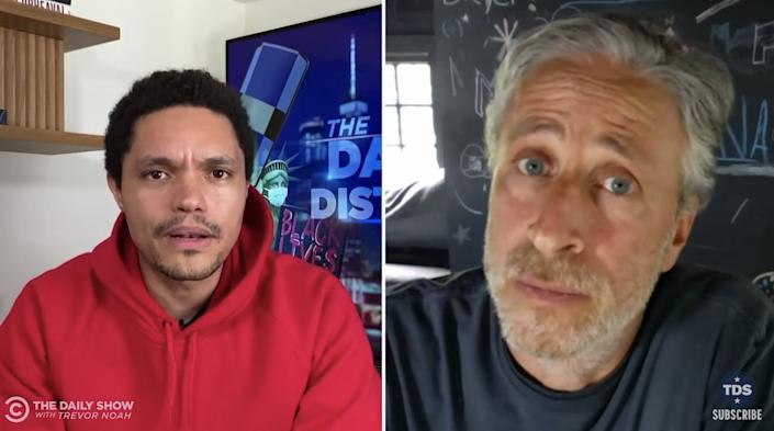 Jon Stewart, Trevor Noah, The Daily Show