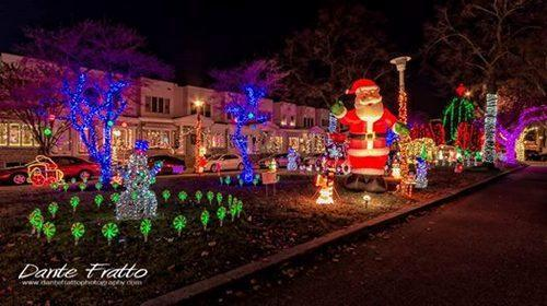 six residential streets with amazing christmas lights